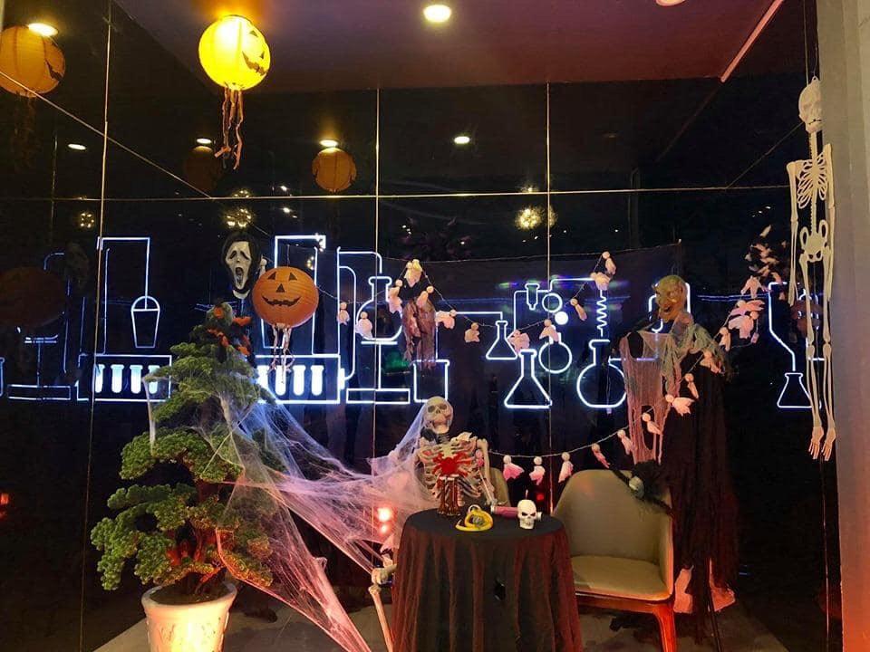 trang trí lễ hội halloween