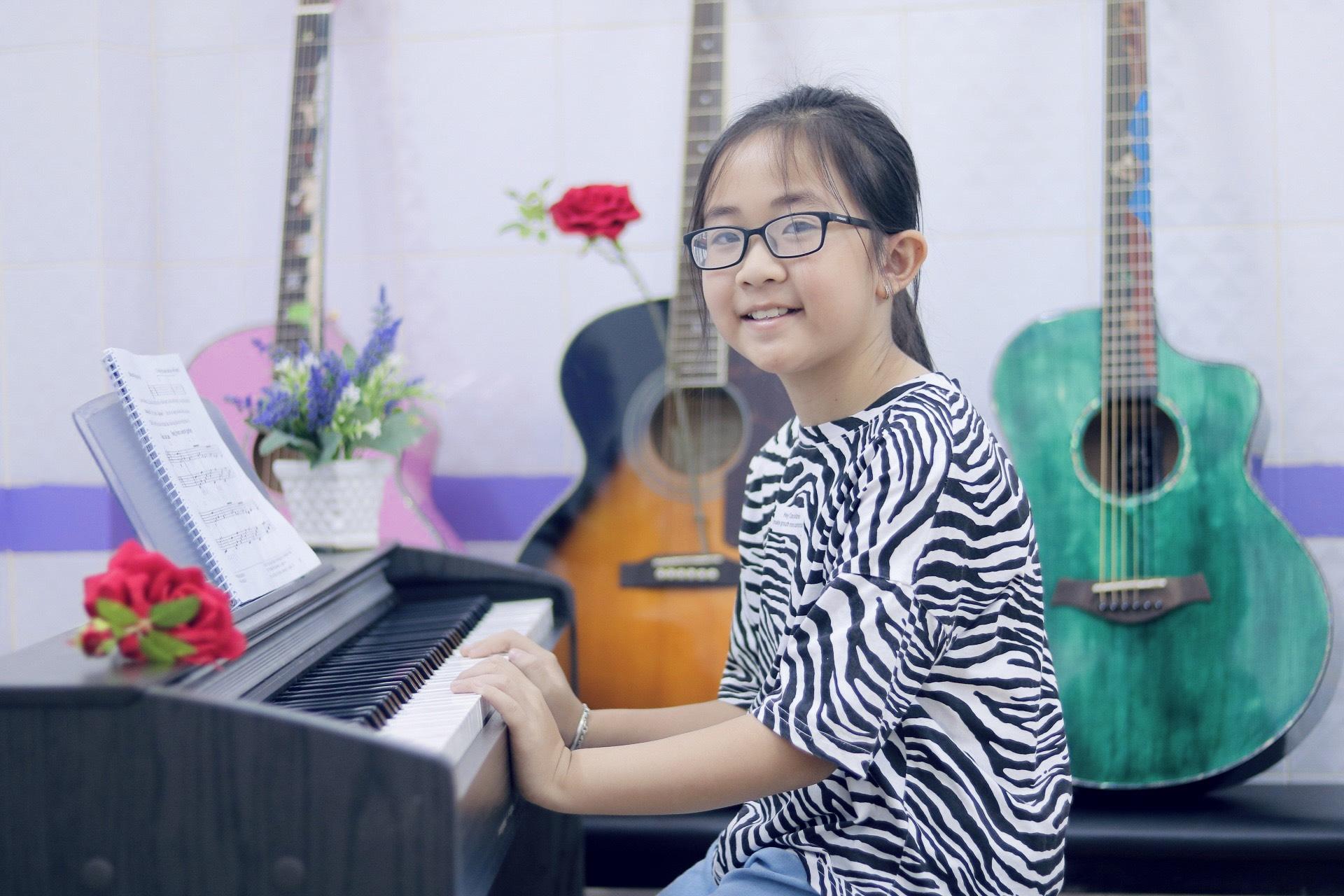 Khóa học piano điện cho trẻ
