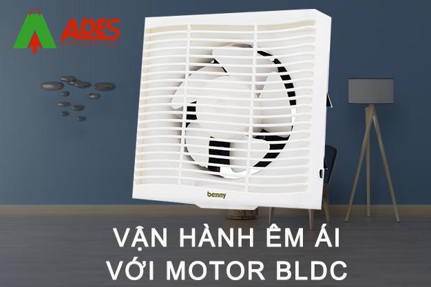 Van hanh ben bi nho motor BLDC