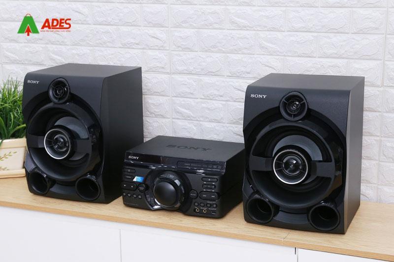 Hinh anh thuc te Dan am thanh 2.0 Sony MHC-M60D